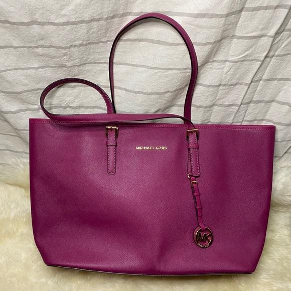 MICHAEL Michael Kors Handbags - MICHAEL KORS Leather Tote Bag